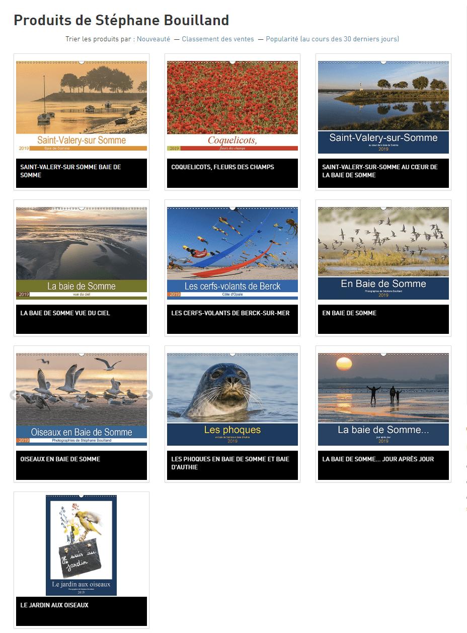 """Les calendriers """"Baie de Somme"""" 2019 sont disponibles !"""
