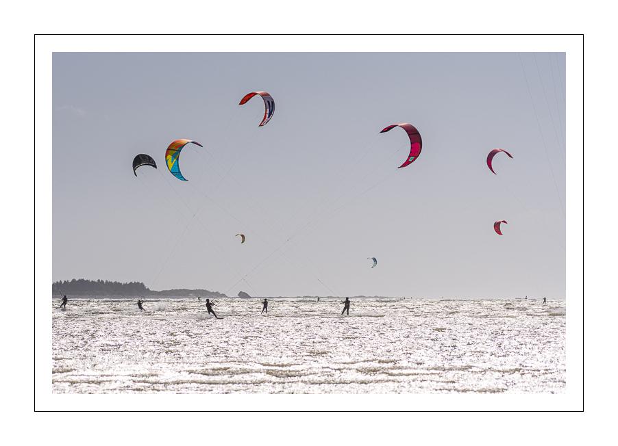 Kitesurf au Crotoy (Baie de Somme)