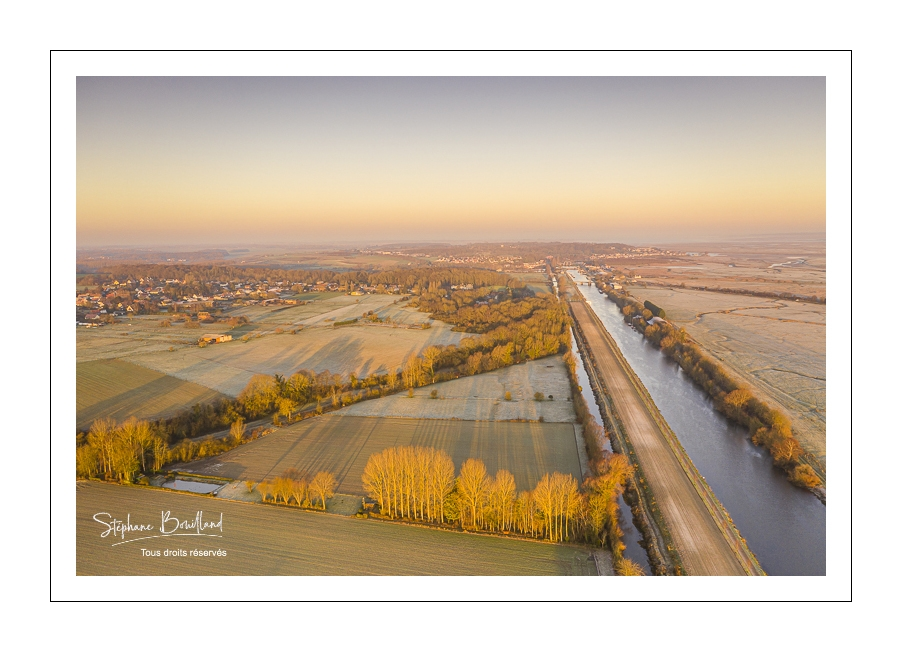 Froide matinée en Baie de Somme