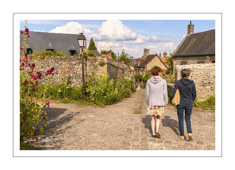 La vieille ville de Saint-Valery